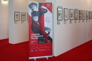 Mostra dei disegni di Fellini