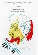 Nino Rota schizzo  di Fellini